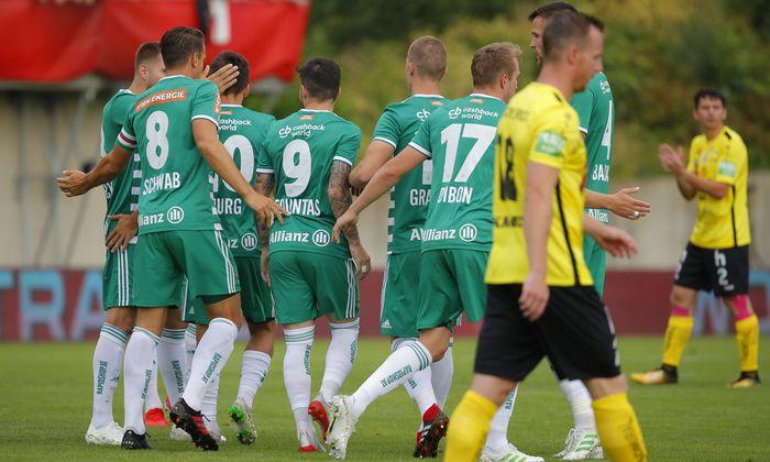 FUSSBALL: UNIQA OeFB CUP / SV ALLERHEILIGEN - SK RAPID WIEN