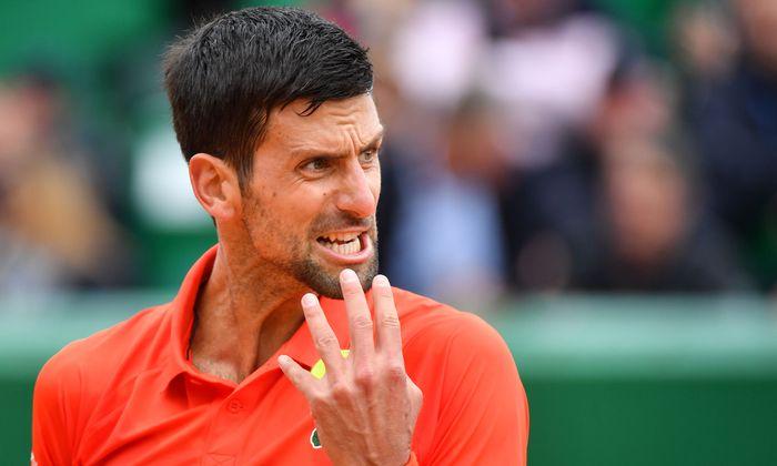Novak Djokovic haderte – und gewann dennoch.