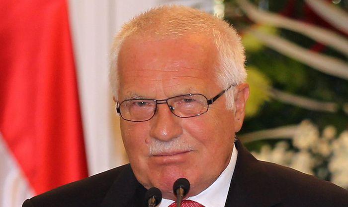 Tschechiens Ex-Präsident Václav Klaus