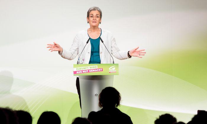 Ulrike Lunacek wurde am Samstag in Wien offiziell zur Spitzenkandidatin gewählt.