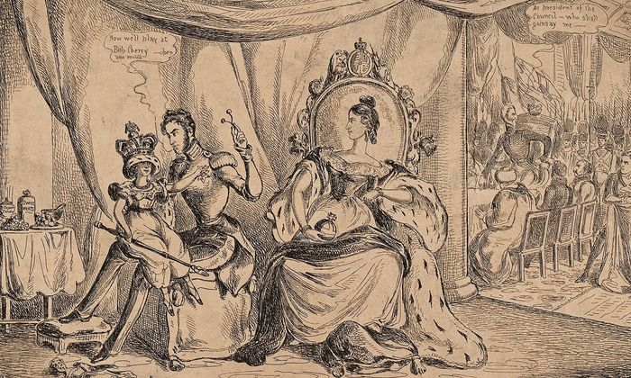 Drawings and Prints Print Design for a Regency Artist Subject Subject Subject William Heath