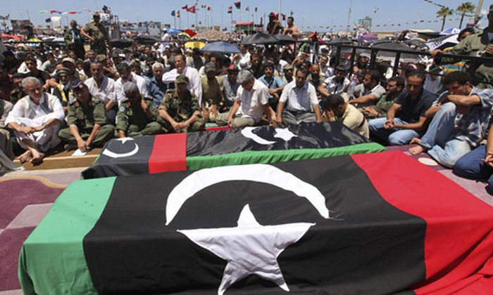 Libyen RebellenMilitaerchef Eigenen erschossen