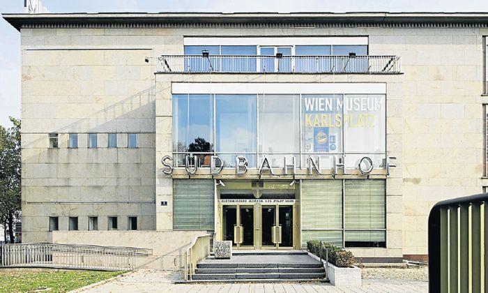 WienMuseum Option Bahnhof stirbt