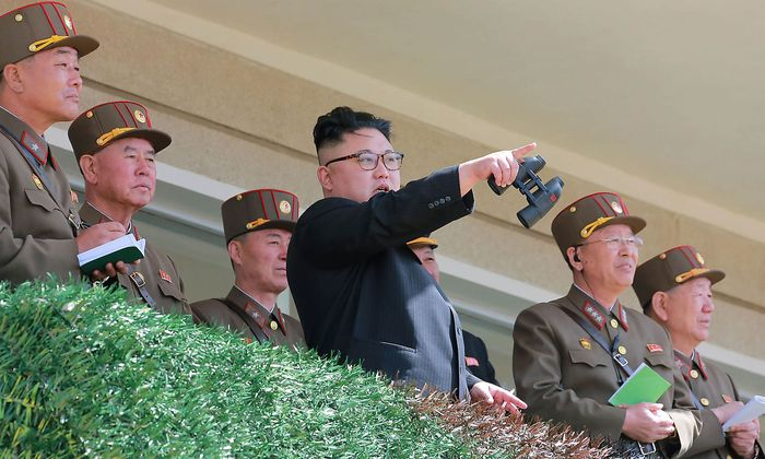 Nordkoreas Machthaber Kim Jong-un.
