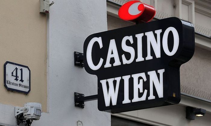 Schriftzug Casino Wien, Kärntner Straße 41.