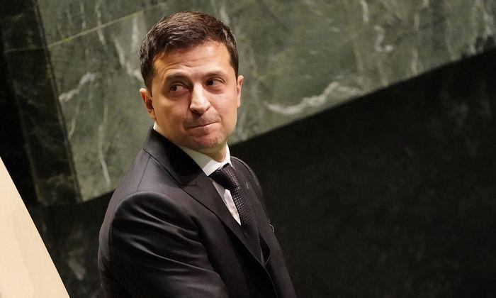 Wolodymyr Selenskij bei der UNO