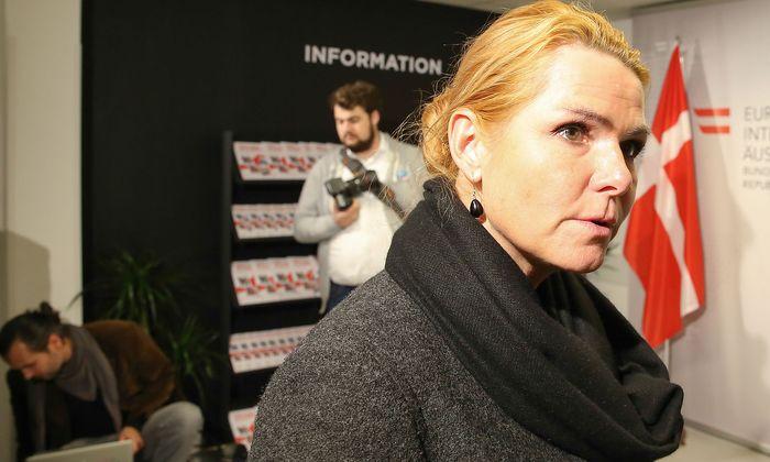 Dänemarks Integrationsministerin Inger Stojberg bei einem Besuch in Wien