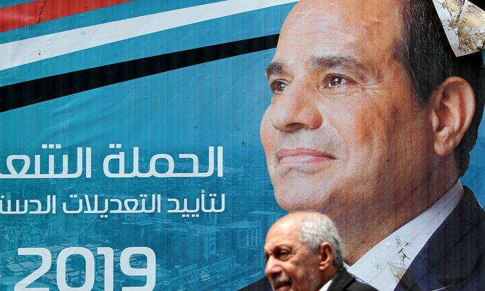 Abdel Fattah al-Sisi ist nicht amtsmüde. Er will an der Macht bleiben.