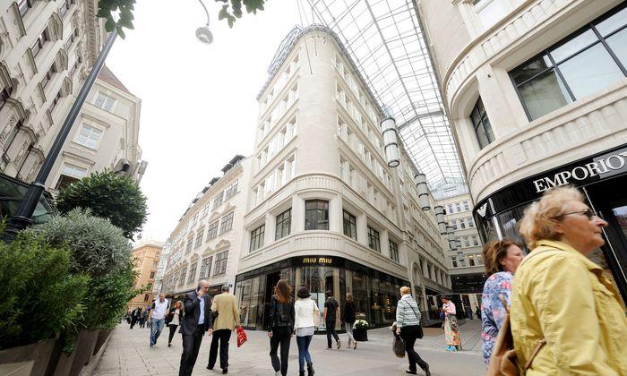 Das Goldene Quartier in Wien gehört zu Rene Benkos Immobilienimperium