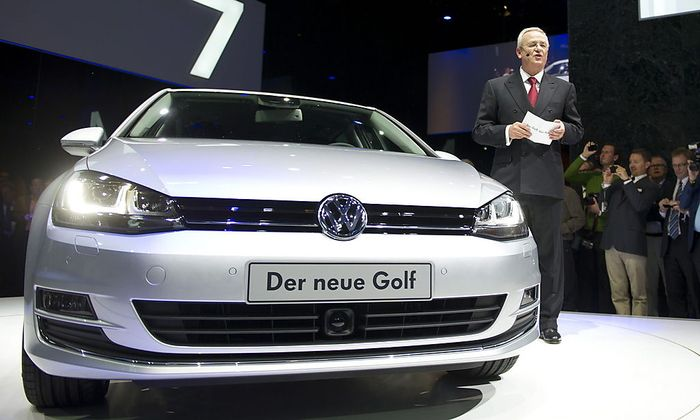 GERMANY VW GOLF 7 PRESENTATION