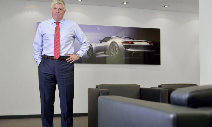 Ex-Porsche-Vorstand Wolfgang Hatz sitzt seit Donnerstag hinter Gittern.