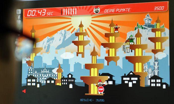 NeonaziHomepage stellt AntiMinarettSpiel online