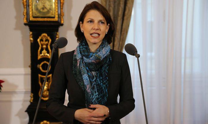 Die im Innenministerium tätige ÖVP-Staatssekretärin Karoline Edtstadler leitet die Task Force Strafrecht.