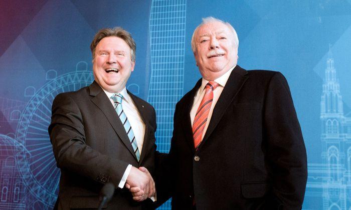 Gerade ein Wiener Bürgermeister (links Ludwig, rechts Häupl) hat viel Macht.