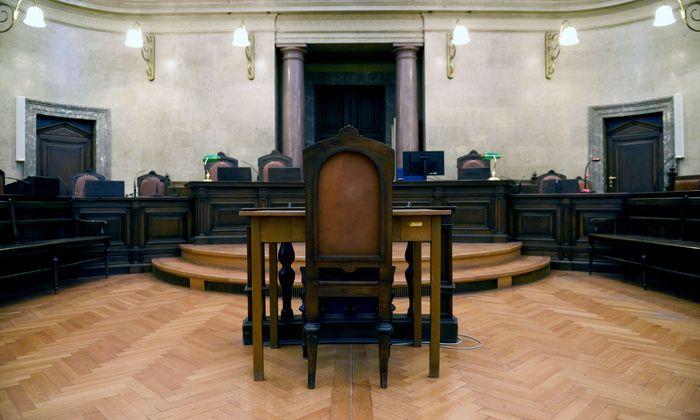 Archivbild: Der große Schwurgerichtssaal im Wiener Landesgericht