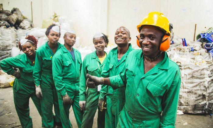 Die Johannes-Kepler-Uni in Linz unterstützt ein Recyclingprojekt in Kenia mit ihrem Know-how.