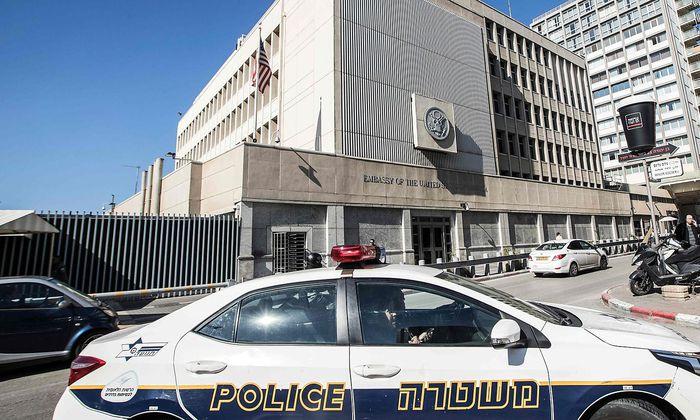Die US-Botschaft im israelischen Tel Aviv.