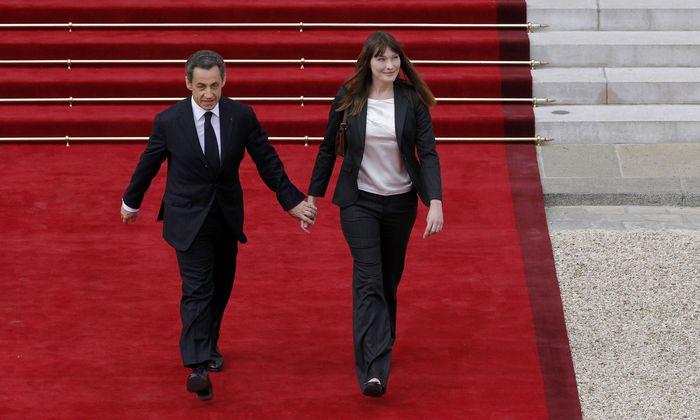 Nicolas Sarkozy und Carla Bruni