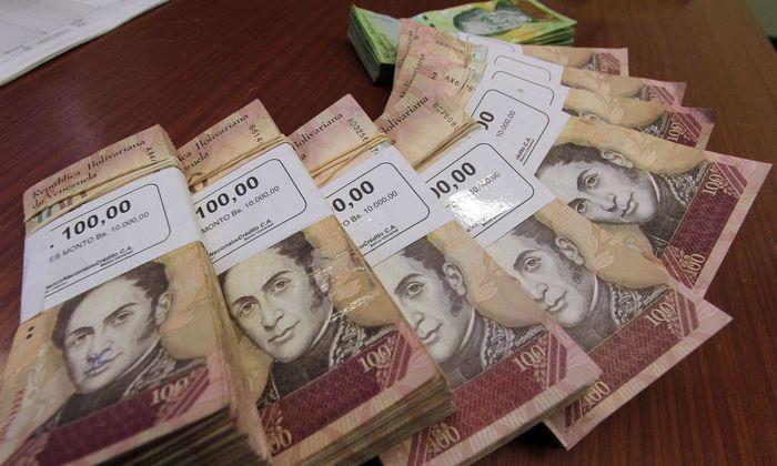 In Venezela kommt man mit einem 100-Bolivares-Schein nicht mehr sehr weit.