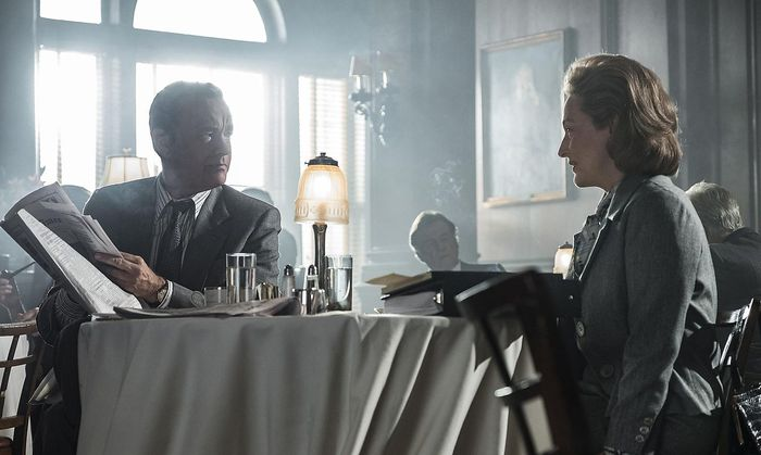 """Tom Hanks und Meryl Streep als Blattmacher in """"Die Verlegerin""""."""