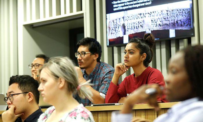Archivbild: Studenten der Central European University in Budapest