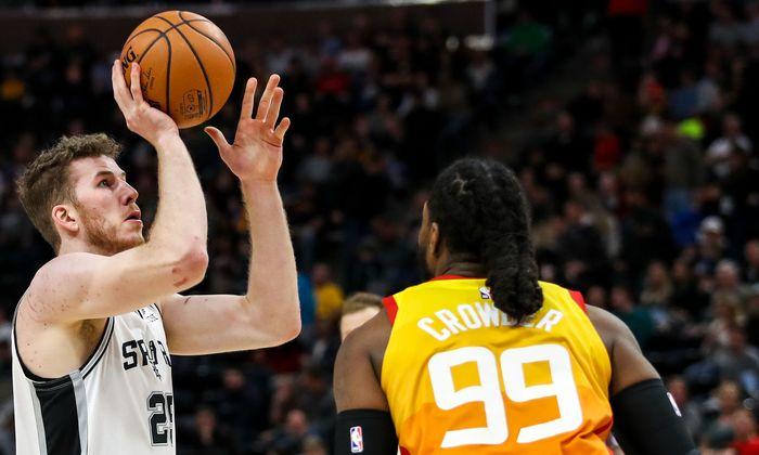 BASKETBALL - NBA, Jazz vs Spurs