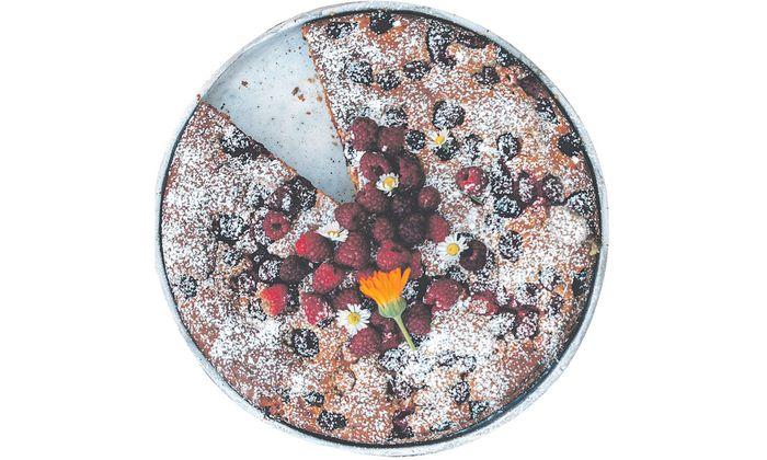 Mit frischen Beeren lassen sich herrliche Kuchen zaubern.