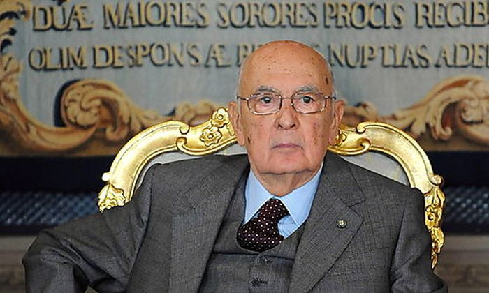 ITALY POLITICS NAPOLITANO