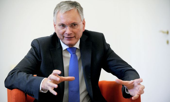 Sozialminister Alois Stöger