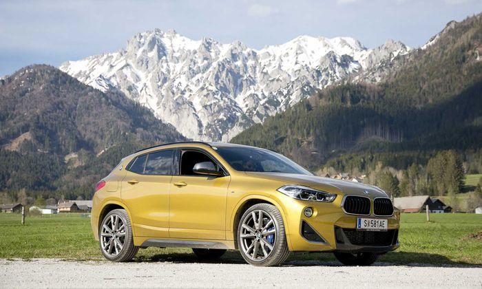 Ein Leben mit 306 PS und unter zehn Litern im Schnitt ist möglich: BMW X2 M35i.