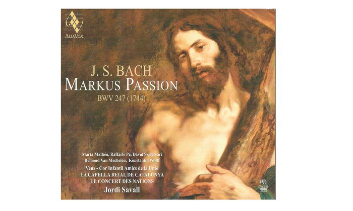 "J. S. Bach: ""Markuspassion (BWV 247)"""