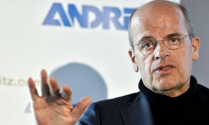 Andritz-Chef Wolfgang Leitner: Joint Venture mit Porsche