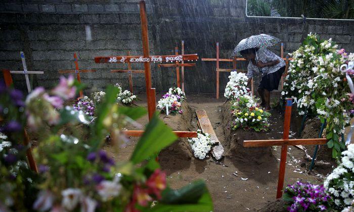 Bei den Anschlägen auf Sri Lanka wurden hundert Menschen weniger getötet.