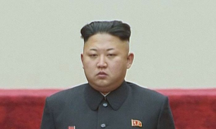 North Korean leader Kim Jong-un attends the Supreme People's Assembly in Pyongyang
