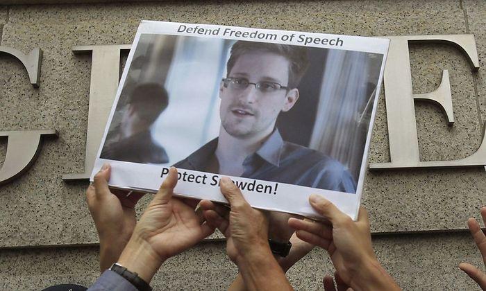 Der Ex-NSA-Mitarbeiter hält sich derzeit in Moskau auf.