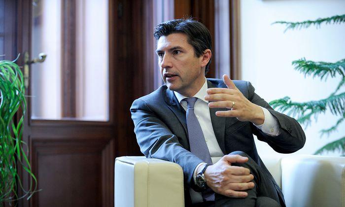 Bank-Austria-Chef Robert Zadrazil