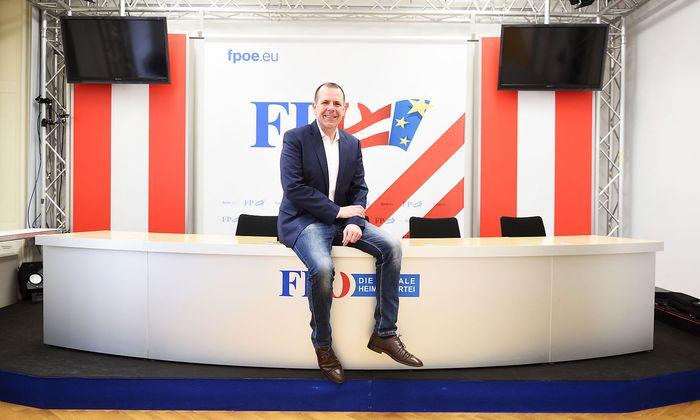 FPÖ-Spitzenkandidat Harald Vilimsky will im EU-Parlament künftig mit Lega, AfD und anderen rechten Parteien eine Fraktion bilden.