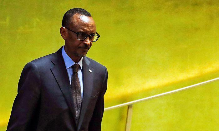 Paul Kagame wurde nach dem Völkermord Präsident von Ruanda.