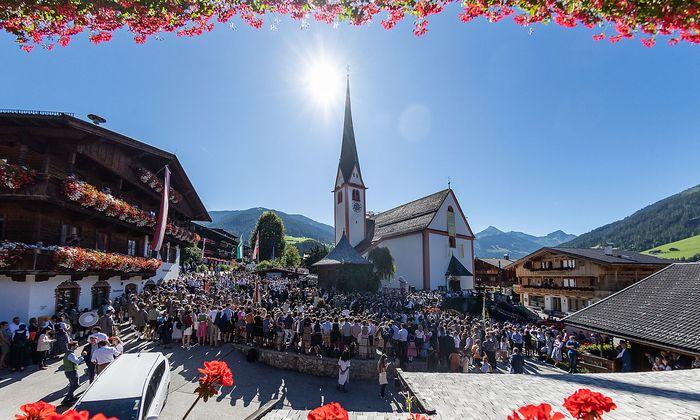 TIROL: EUROPAeISCHES FORUM ALPBACH 2019: EROeFFNUNG: