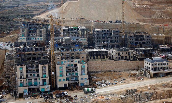 Israelische Siedlungen in Palästinensergebieten.