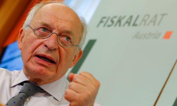 Fiskalrats-Chef Bernhard Felderer.