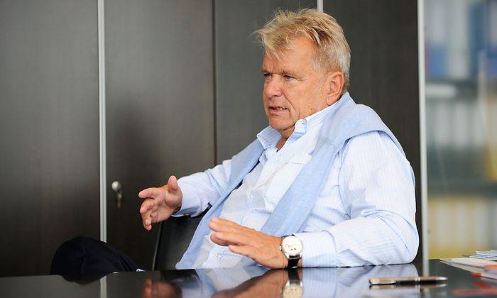 Der Industrielle Hans Peter Haselsteiner