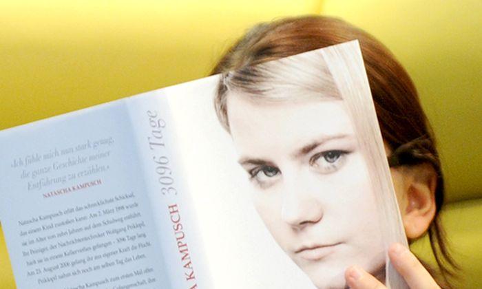 Archivbild: Natascha Kampusch hat ihren Entführungsfall im Vorjahr in einem Buch verarbeitet.