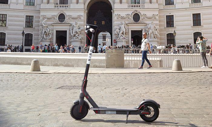 Wien ist eine Roller-Musterstadt. Aber auch hier kommt es zu Unfällen.