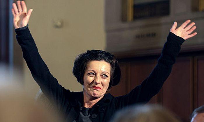 Neo-Nobelpreisträgerin Herta Müller