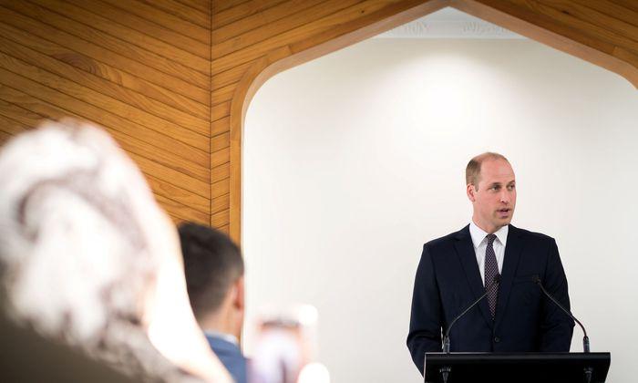 Prinz William in Christchurch