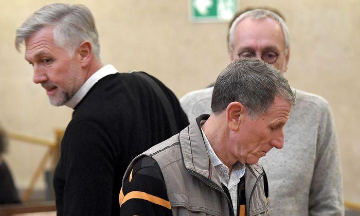 Walter Meischberger, Peter Hochegger - im Hintergrund: Rudolf Fischer