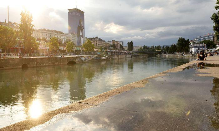 Wien sucht die Wasserflächen