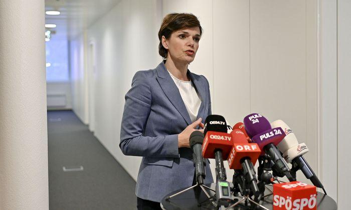 SPÖ-Parteivorsitzende Pamela Rendi-Wagner