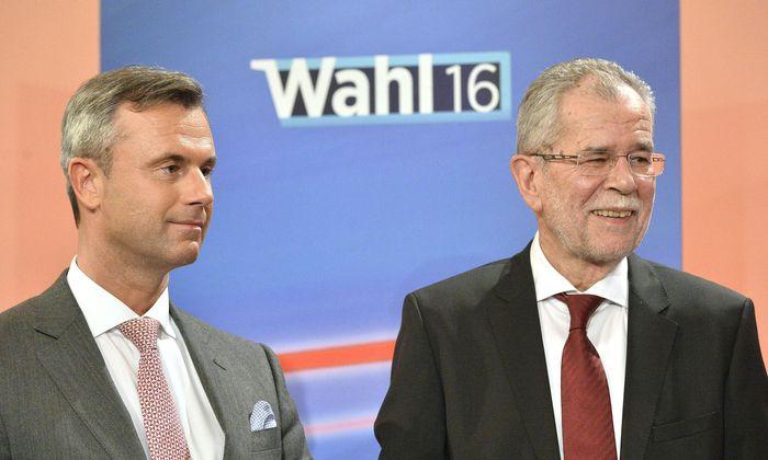 BP-WAHL: HOFBURG - VAN DER BELLEN / HOFER